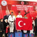 Boyabatlı Para-Teakwondo Türkiye Şampiyonu Bekir Akgöz Avrupa Yolcusu….