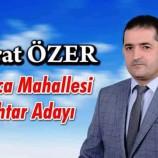 Murat Özer Çamlıca Mahallesi Muhtar Adaylığını Açıkladı….