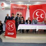 SİNOP MHP'DE Coşkulu Tanıtım….