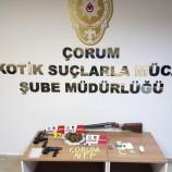 Çorumda Başlayan Uyuşturucu Operasyonu , Boyabat'ta Bitti….
