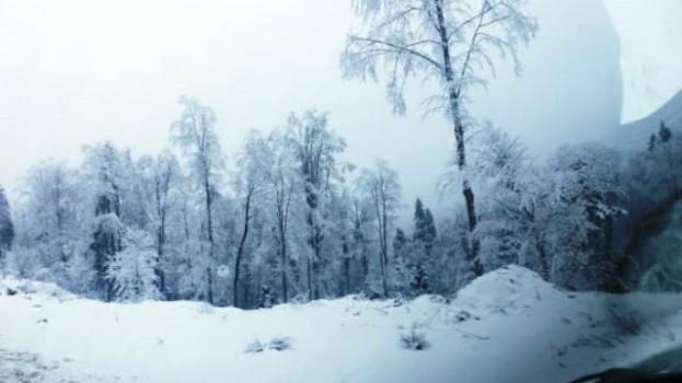 Boyabat'ta (KURU) Kar Soğuğu Etkili Oluyor..