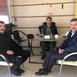 Başkan Çakıcıdan MHP İlçe Başkanına Ziyaret….