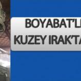 Kuzey Irak'ta Boyabat'lı Askerimiz Yaralandı….