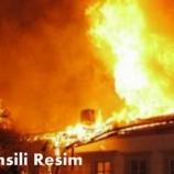 Bağlıca Köyünde Yangın….