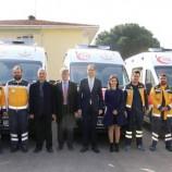 Sinop'ta Araç Filosuna 5 Yeni Ambulans Katıldı…