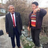 MHP'li (Koca Kurt) Celal Küçükbaş Gitmedik Köy, Çalmadık Kapı Bırakmıyor….