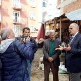 İYİ Parti Belediye Başkan Adayı Hasan Kara Hal Yeri Esnafı İle Konuştu….