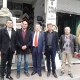 MHP Belediye Başkan Adayı Şükrü Kaya Orta Çarşı Esnafı İle Buluştu….