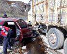 Boyabat Yaylaoğlu Fabrikası Önünde Feci Trafik Kazası…..