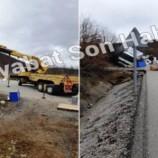 Boyabat-Kargı Yolunda Trafik Kazası…