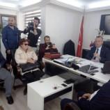 Cemiyetten Başkan Ayhan'a Ordu Gibi Ziyaret !