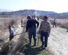 Köylerde Bahar Temizliği Ve Ark Çalışmaları Başladı…..