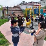 Boyabat'ta 270 Öğrenci ve 11 Öğretmen Parkları Temizledi….