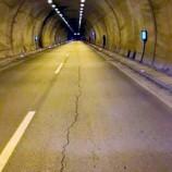 Sinop Tüneli Tabanında Derin Çatlaklar Oluştu…