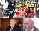 Türkiye Basını Sinop'ta Buluşuyor….