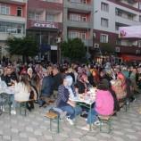 Türkeli'de 2 bin kişilik iftar sofrası…..