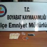 Boyabat'ta Uyuşturucu Operasyonu…