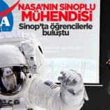 NASA'nın Sinoplu Mühendisi, Öğrencilerle Buluştu..