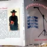 """Hüseyin Cömert'in Yeni Kitabı """"Bir Sevdadır Boyabat"""" Çıktı…."""