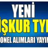İŞKUR Sinop İl Müdürlüğü, 155 kişilik bir işçi alımı yapacak….