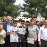 Kaymakam Fatih Aksoy, Karne Sevincine Ortak oldu…