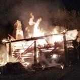 Paşaoğlu Köyünde Yangın…