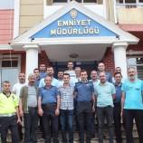 Cumhuriyet Savcısı Mehmet Özdemir'den Emniyete Veda Ziyareti…