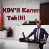 CHP'li Vekil Karadeniz'den %1 KDV'li Kanun Teklifi….