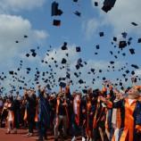 Sinop Üniversitesi'nin 12. Döneminde 2342 öğrenci kep attı…