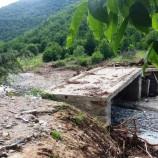 Boyabat'ta Sel Köprüyü Vurdu…