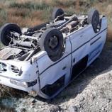 Boyabat – Kargı Yolunda Minibüs Şarampole Yuvarlandı….