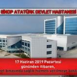 Sinop Atatürk Devlet Hastanesi Yeni Binasına Taşınıyor….