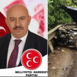 Nazım Demiray Trafik Kazası Geçirdi….