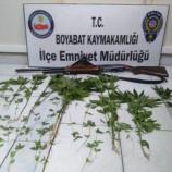 Boyabat'ta Şüpheli Araçtan Uyuşturucu Çıktı…