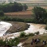 """Taşköprü'de """"SEL"""" Felaketi, 8 Büyükbaş Hayvan Sele Kapılıp Yok Oldu…"""