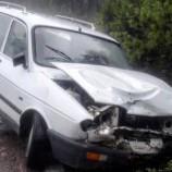 Otomobil Kamyonetle Kafa Kafaya Çarpıştı, 1 Kadın, 3 Yaralı…