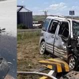Otomobille – Traktör Çarpışı, 2 Çocuk , 8 Yaralı…