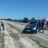 Taşköprü, Boyabat Yolunda Otomobil Takla Attı, 2 Yaralı…