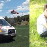 Trafik Kazasında Yaralanan Çocuk Hava Ambulansı İle Samsuna Sevk Edildi…