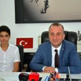 """""""Her şey çok güzel olacak"""" sloganının mimarı Berkay, Sinop Belediye Başkanı'nın misafiri oldu…"""