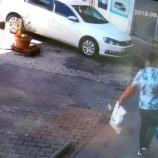 Hırsız Güvenlik Kamerasına Yakalandı…