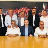 Galatasaray Başkan Yardımcısı Yusuf Günay'dan İstanbul Sinop Spor'a Tam Destek…