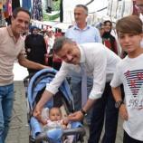Başkan Çakıcı' dan Arefe Gününde Pazarcı Esnafına Ziyaret…