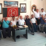 Boyabat MHP'DE Bayramlaşma Yapıldı…