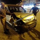 Son Dakika.. Boyabat Işıklarda Trafik Kazası…