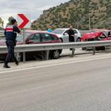 Kargıda ; Zincirleme Kaza: 11 Araç Birbirine Girdi 7 Kişi Yaralandı…