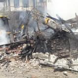 Saraydüzü Uluköydeki Ev Yangınından Son Görüntüler…
