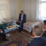 Boyabat Kaymakamı Aksoy'dan Kore Gazisine Ziyaret..