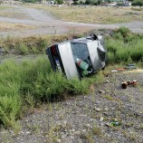 Boyabat-Kargı Yolunda Otomobil Takla Attı, 2 Yaralı…