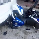 Boyabat'ta Motosiklet Kazası, 1 Yaralı…